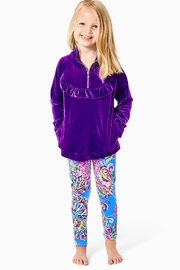Lilly Pulitzer Oaklee Velour Popover - Product Mini Image