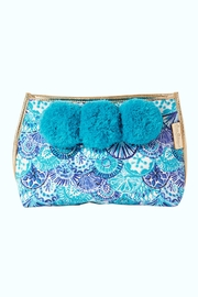 Lilly Pulitzer Oasis Pom-Pom Pouch - Product Mini Image