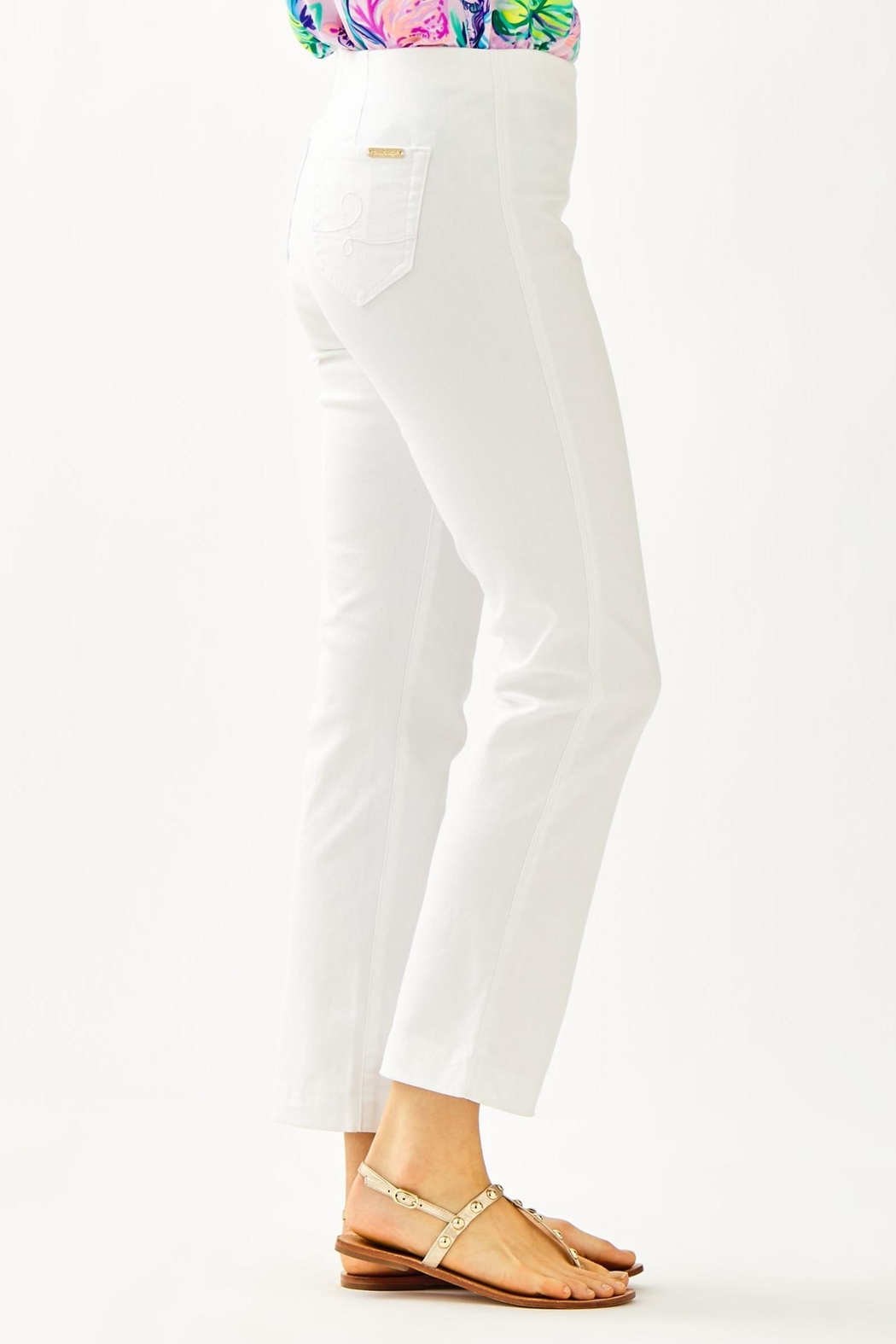 Lilly Pulitzer Ocean Cay Pant - Side Cropped Image