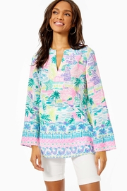 Lilly Pulitzer Ocean Cove Tunic - Front cropped