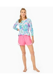 Lilly Pulitzer Ocean Trail Short - Back cropped
