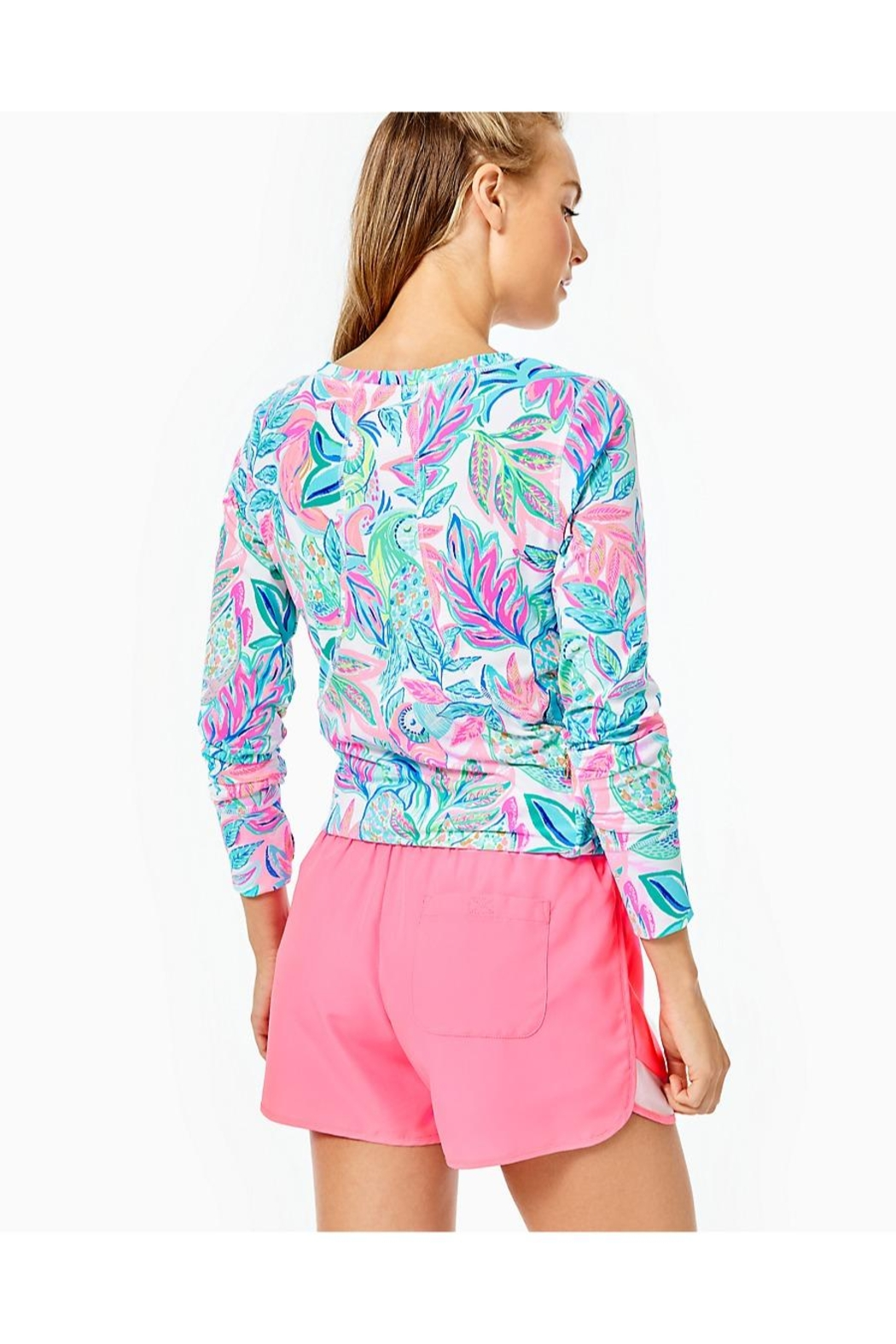 Lilly Pulitzer Ocean Trail Short - Front Full Image