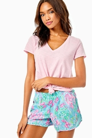 Lilly Pulitzer Ocean Trail Short - Front cropped