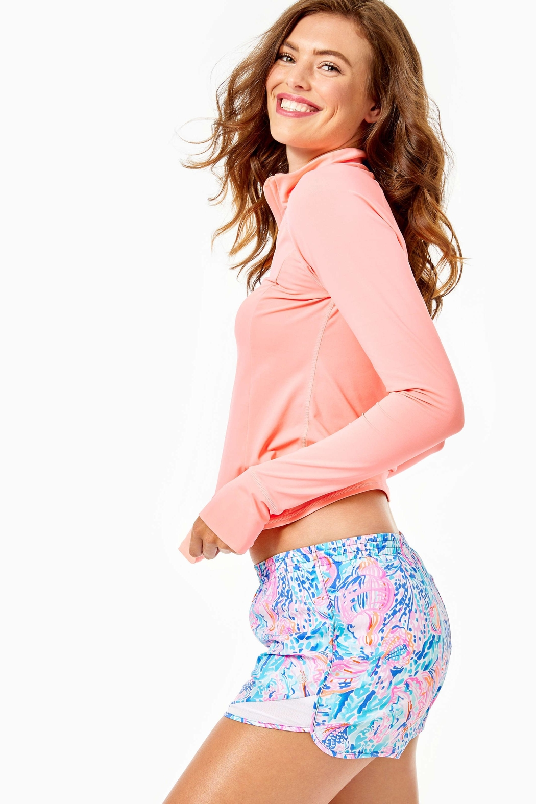 Lilly Pulitzer Ocean Trail Short - Side Cropped Image