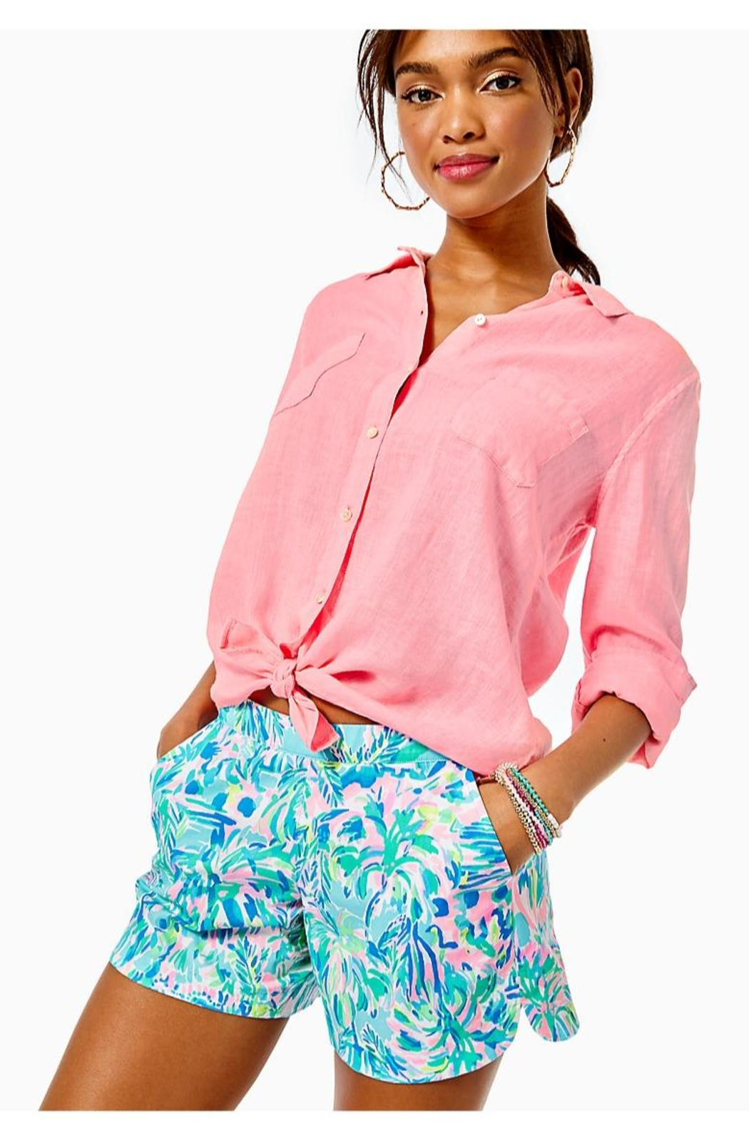 Lilly Pulitzer Ocean View Short - Main Image