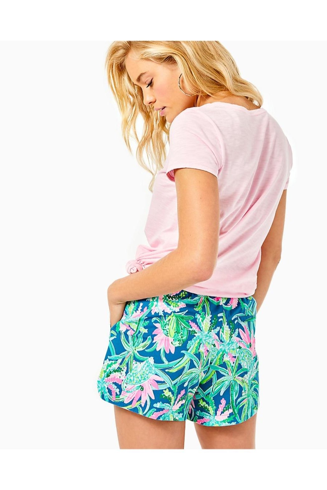 Lilly Pulitzer Ocean View Short - Front Full Image