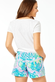 Lilly Pulitzer Ocean View Short - Front full body