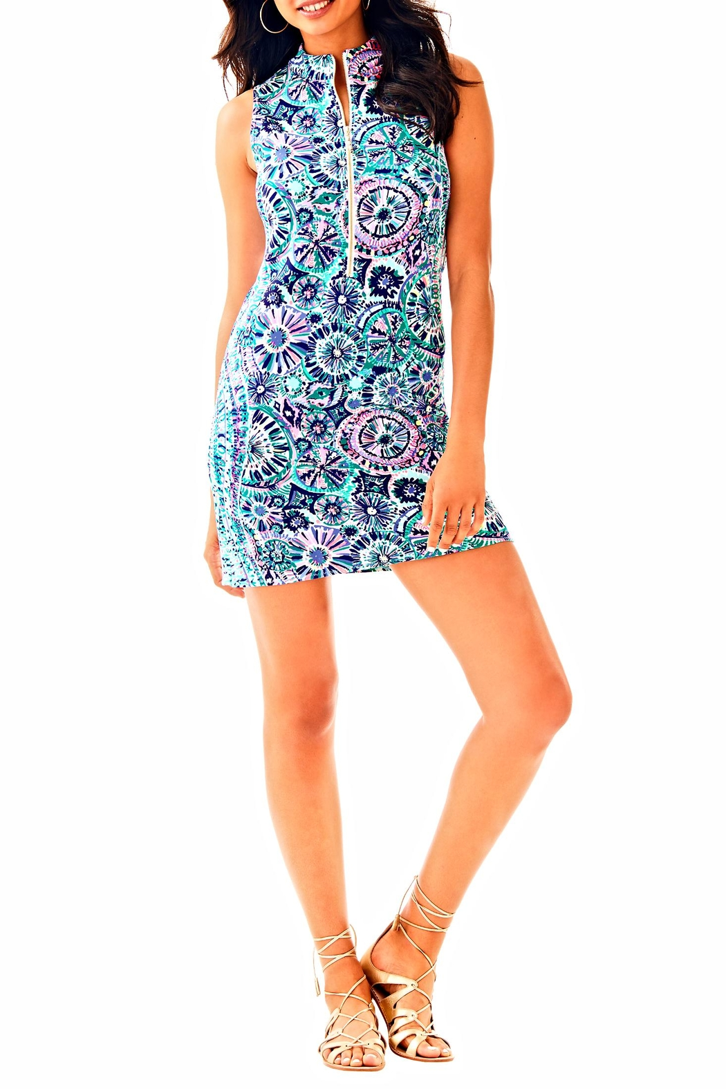 Lilly Pulitzer Opal Shift Dress - Back Cropped Image