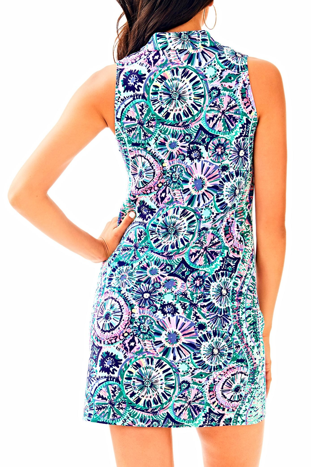 Lilly Pulitzer Opal Shift Dress - Front Full Image