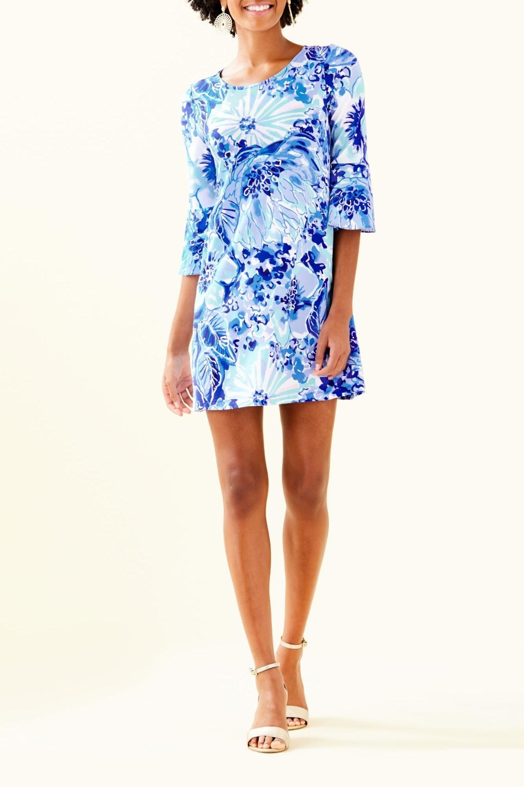 Lilly Pulitzer Ophelia Dress - Back Cropped Image