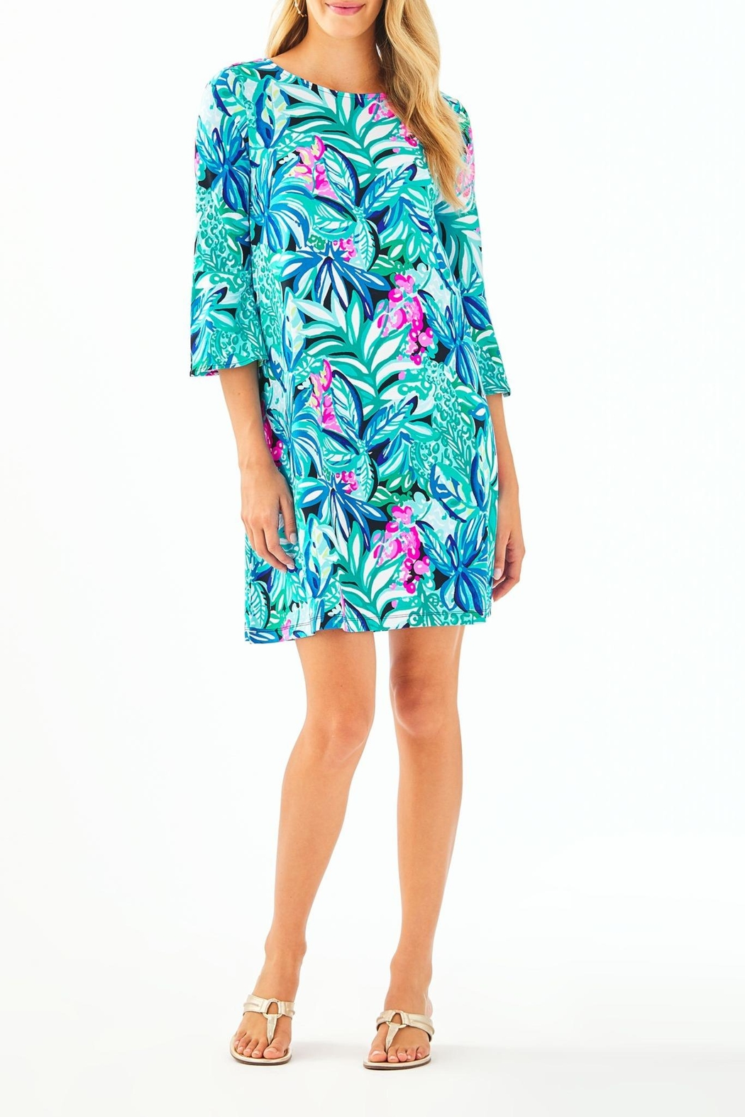 Lilly Pulitzer Ophelia Swing Dress - Back Cropped Image