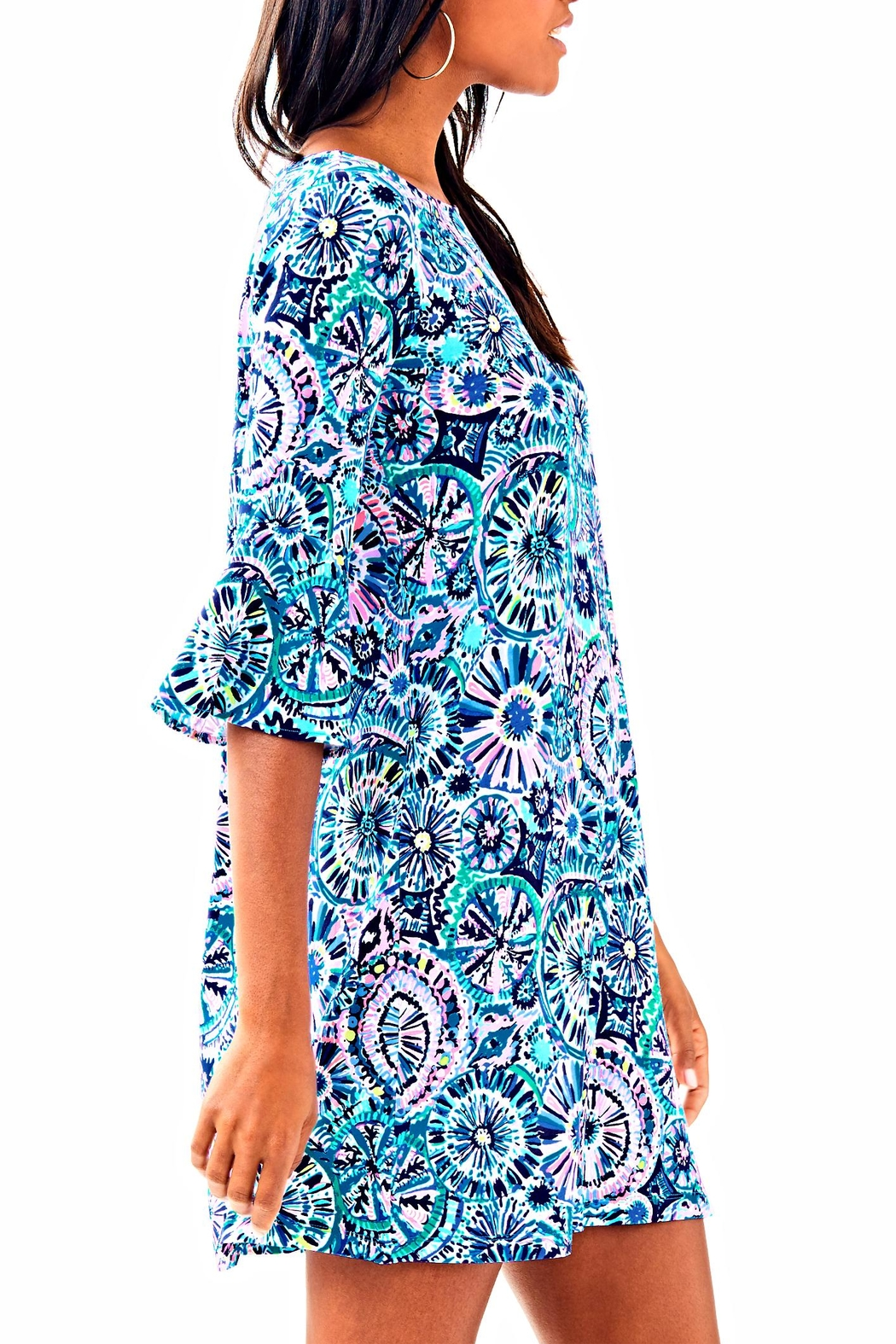 Lilly Pulitzer Ophelia Swing Dress - Side Cropped Image