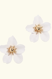 Lilly Pulitzer Orchid Earrings - Product Mini Image