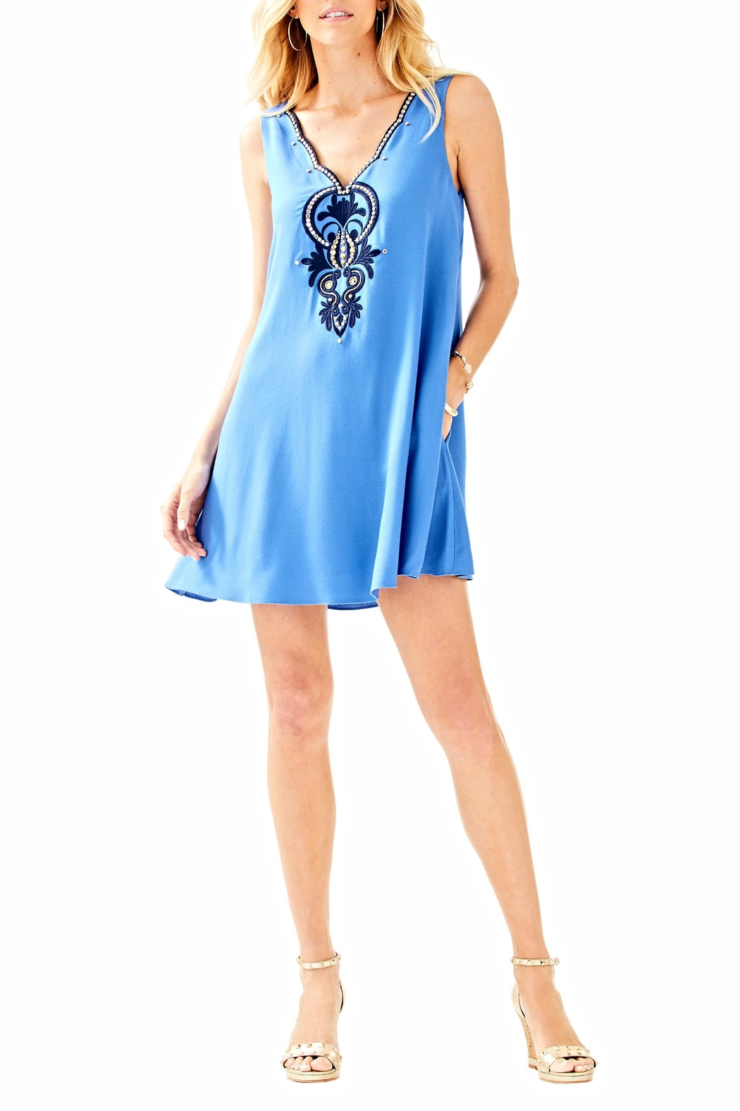 Lilly Pulitzer Owen Dress - Back Cropped Image
