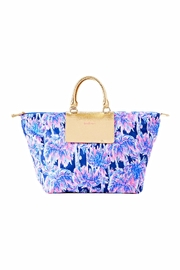 Lilly Pulitzer Packable Escape Weekender - Front cropped