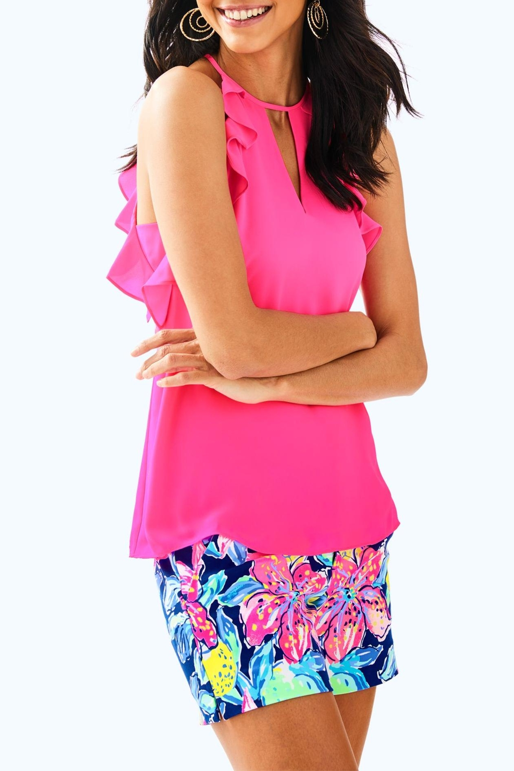 Lilly Pulitzer Padma Top - Front Cropped Image