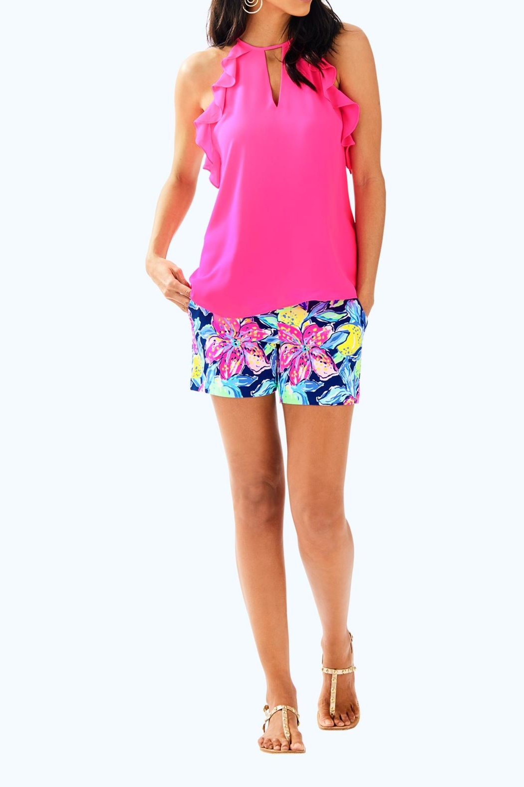 Lilly Pulitzer Padma Top - Side Cropped Image