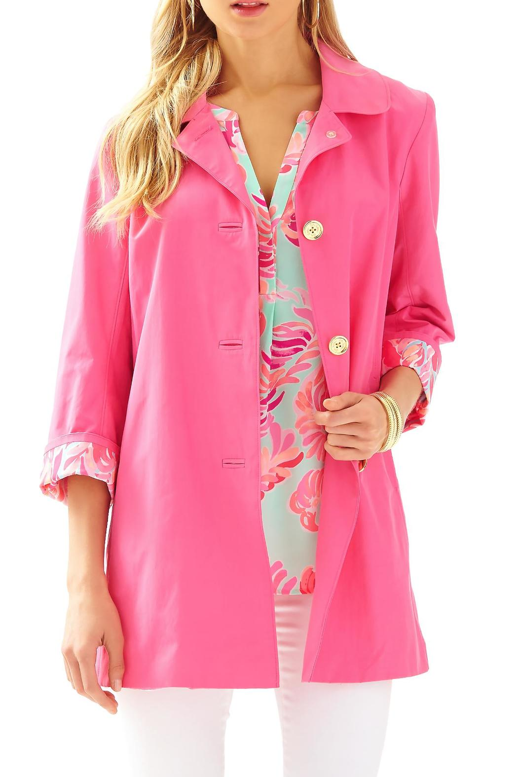 lilly pulitzer palm beach swing-jacket from sandestin golf and