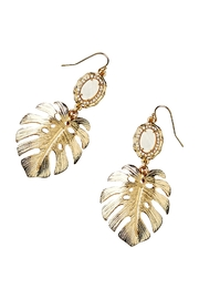 Lilly Pulitzer Palm Earring - Product Mini Image