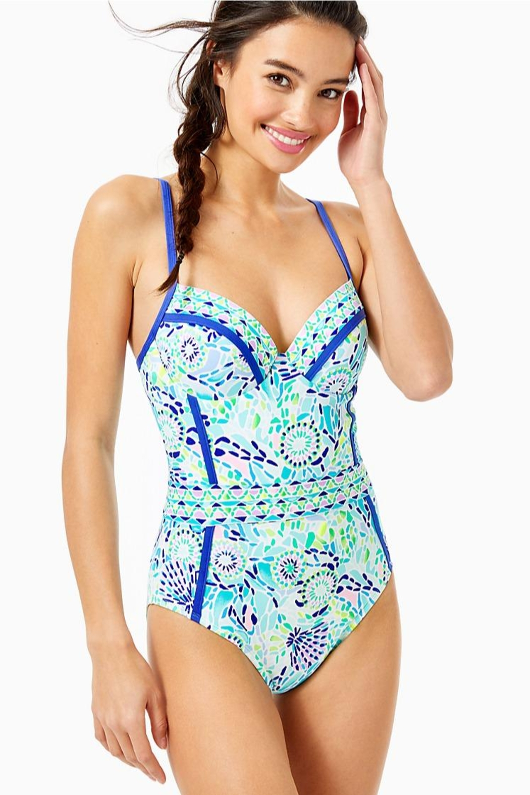 Lilly Pulitzer Palma One-Piece Swimsuit - Main Image