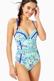 Lilly Pulitzer Palma One-Piece Swimsuit - Front cropped
