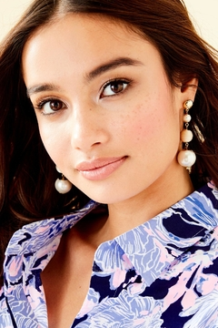 Lilly Pulitzer Pearl Perfect Earrings - Alternate List Image
