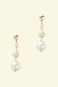 Lilly Pulitzer Pearl Perfect Earrings - Product List Image