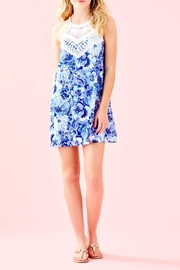 Lilly Pulitzer Pearl Shift Dress - Back cropped