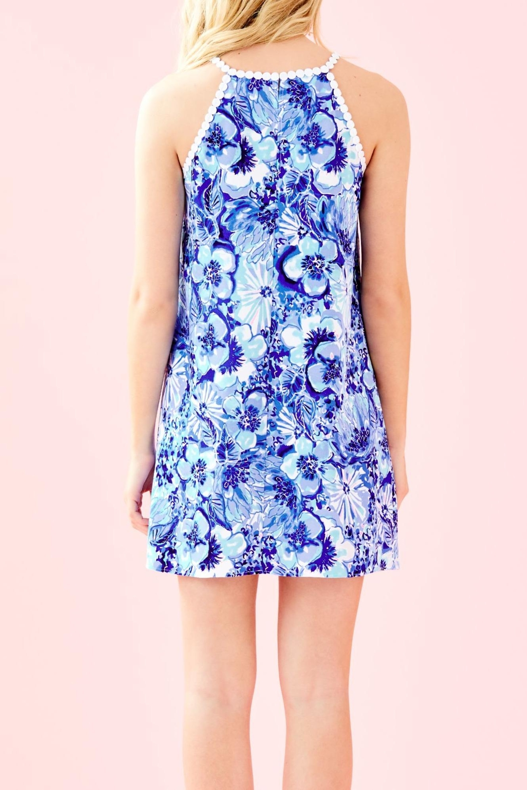 Lilly Pulitzer Pearl Shift Dress - Front Full Image