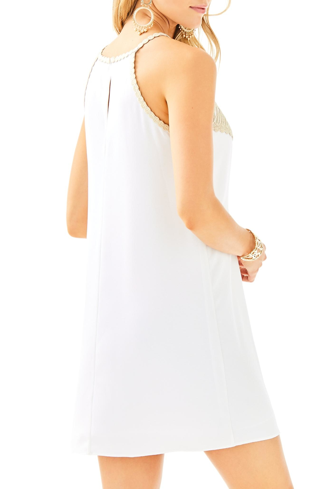 Lilly Pulitzer Pearl Soft Dress - Front Full Image