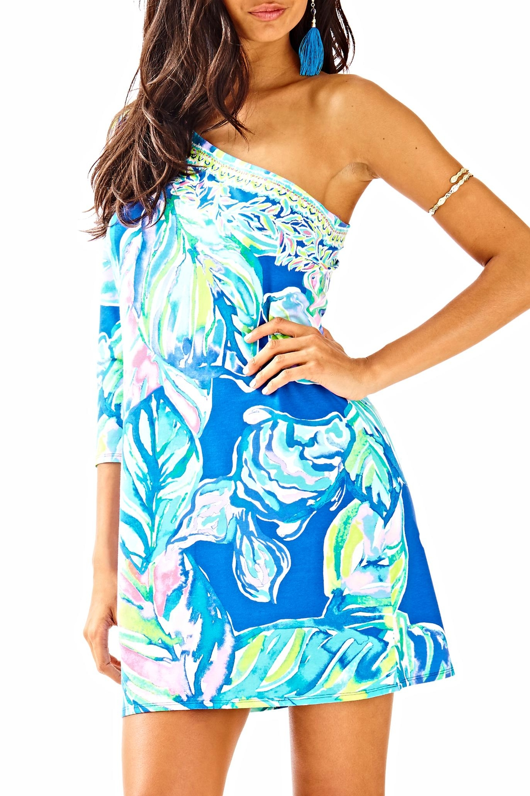Lilly Pulitzer Petra Dress - Front Cropped Image