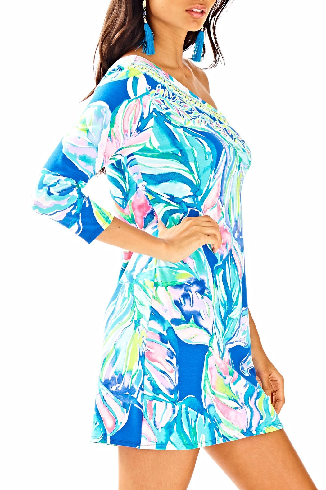 Lilly Pulitzer Petra Dress - Side Cropped Image