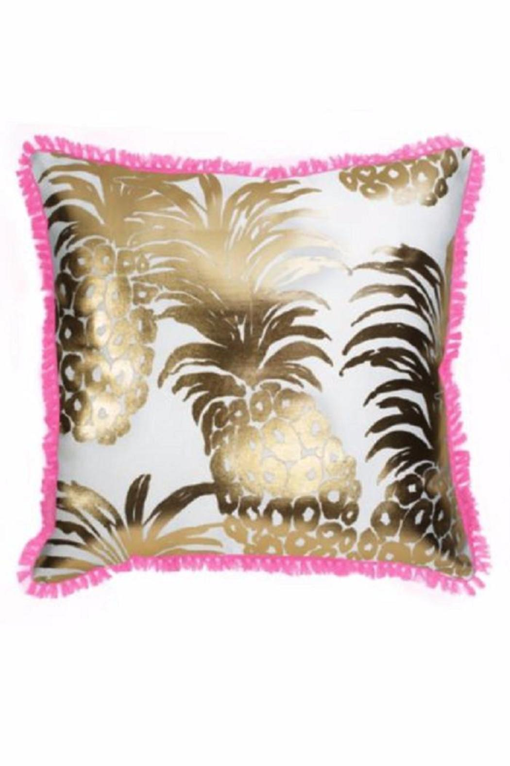 Lilly Pulitzer Pineapple Pillow from North Carolina by Jules Etc