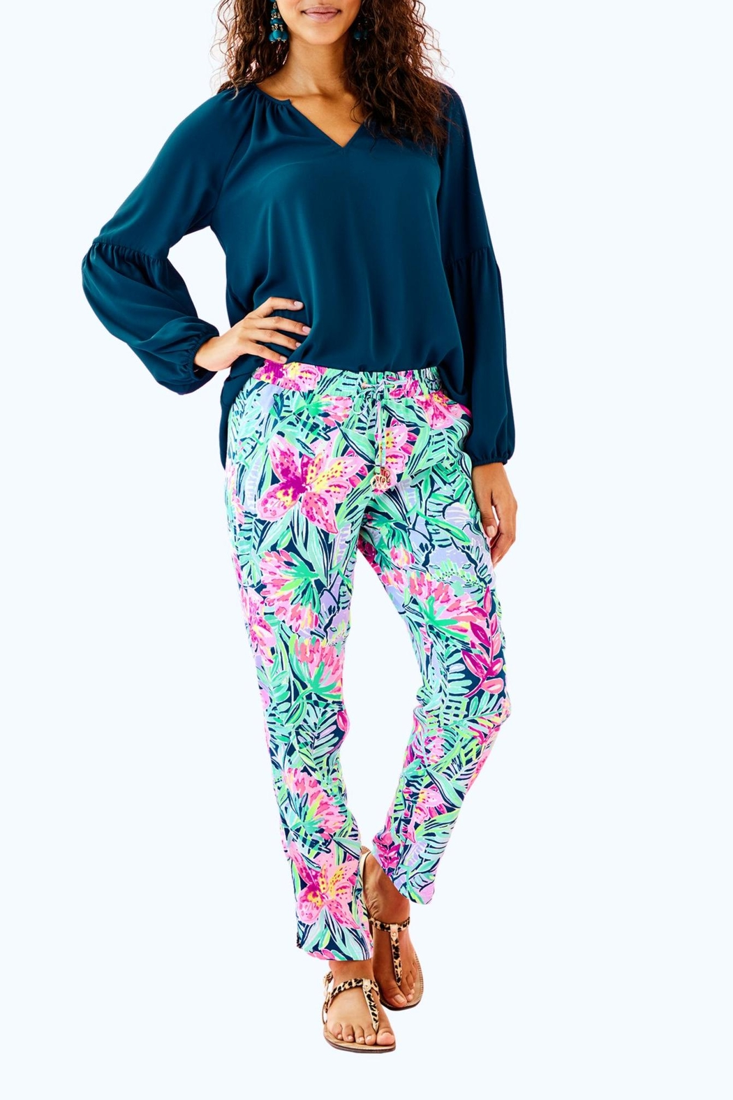 Lilly Pulitzer Piper Crop Pant from Sandestin Golf and Beach Resort ... 71fb63efd49e5