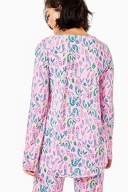 Lilly Pulitzer Pj Knit-Long-Sleeve Top - Front full body