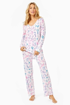 Lilly Pulitzer Pj Knit-Long-Sleeve Top - Alternate List Image