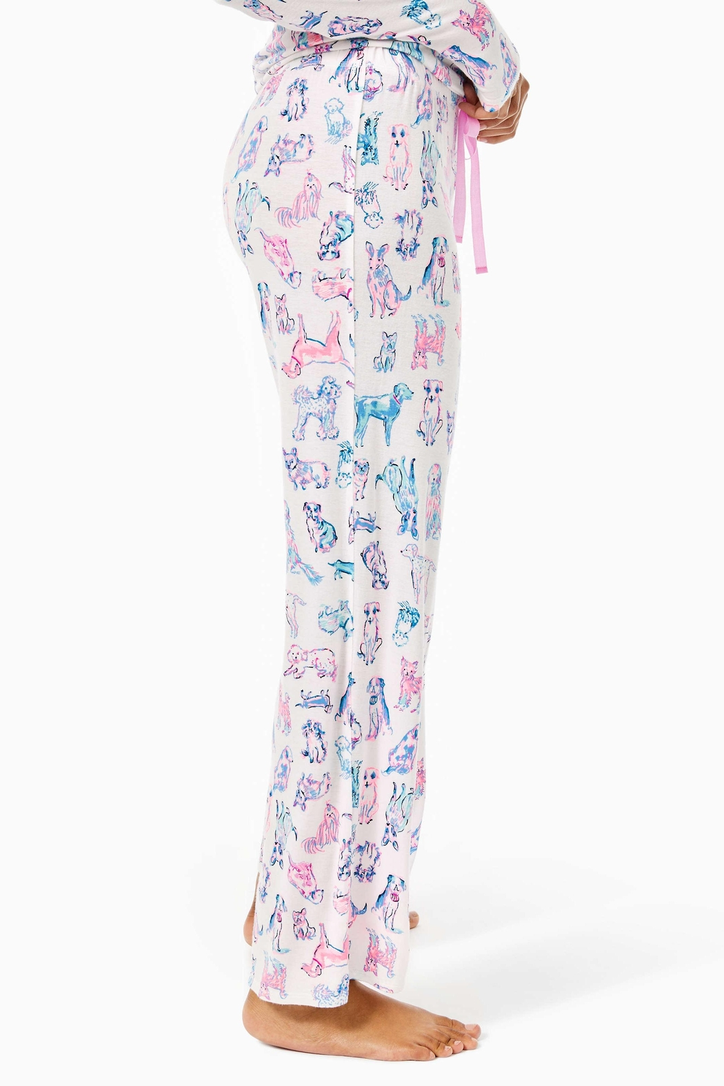 Lilly Pulitzer Pj Knit Pant - Side Cropped Image