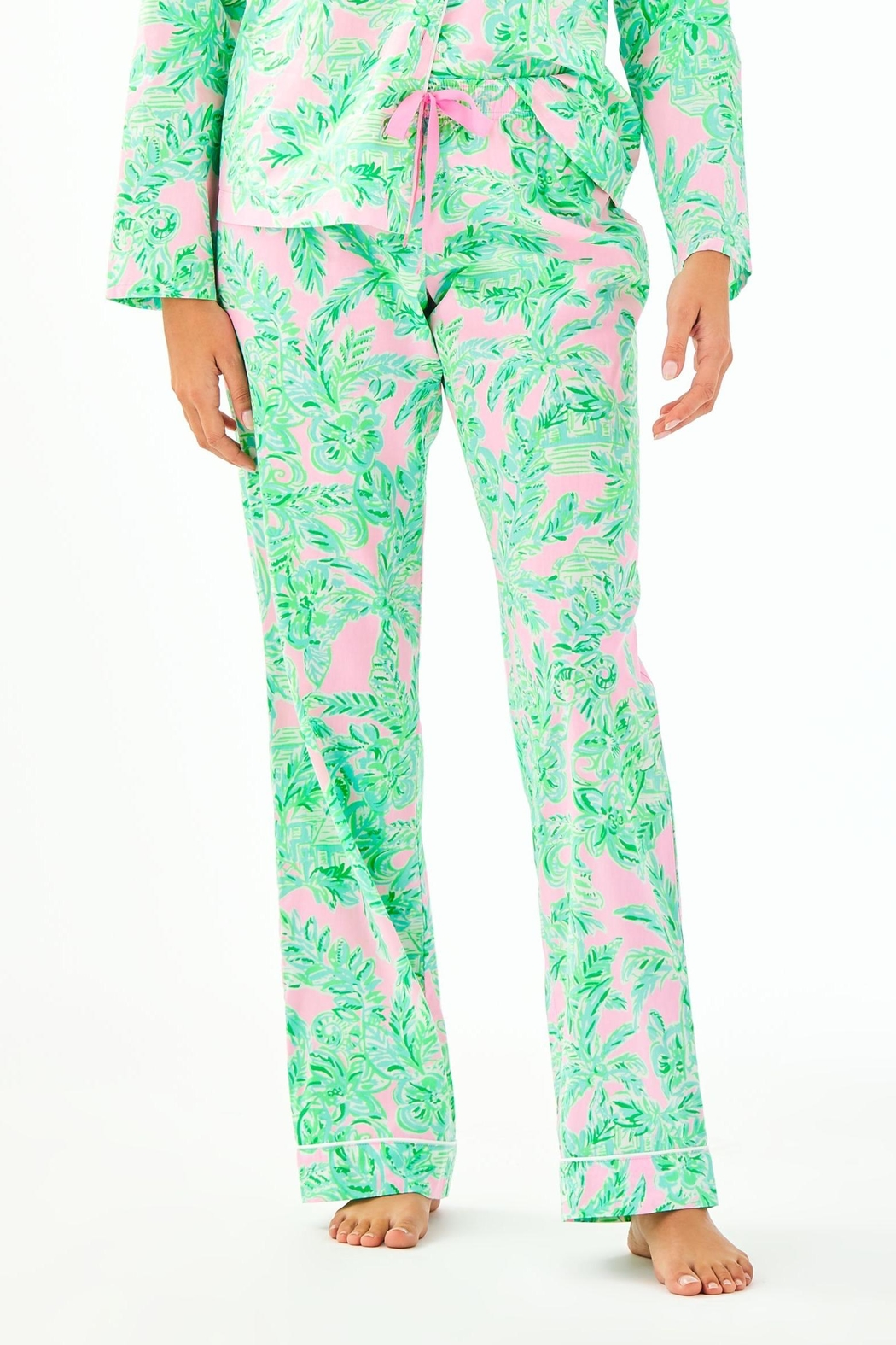 Lilly Pulitzer Pj Knit Pant - Front Cropped Image