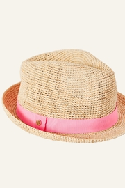 Lilly Pulitzer Poolside Raffia Hat - Product Mini Image