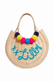 Lilly Pulitzer Positano Straw Tote - Product Mini Image