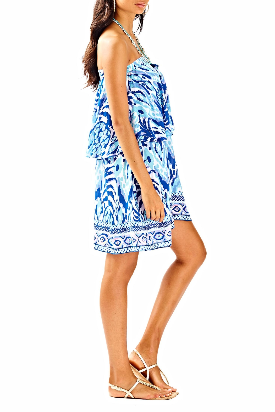Lilly Pulitzer Quincy Swing Dress - Side Cropped Image