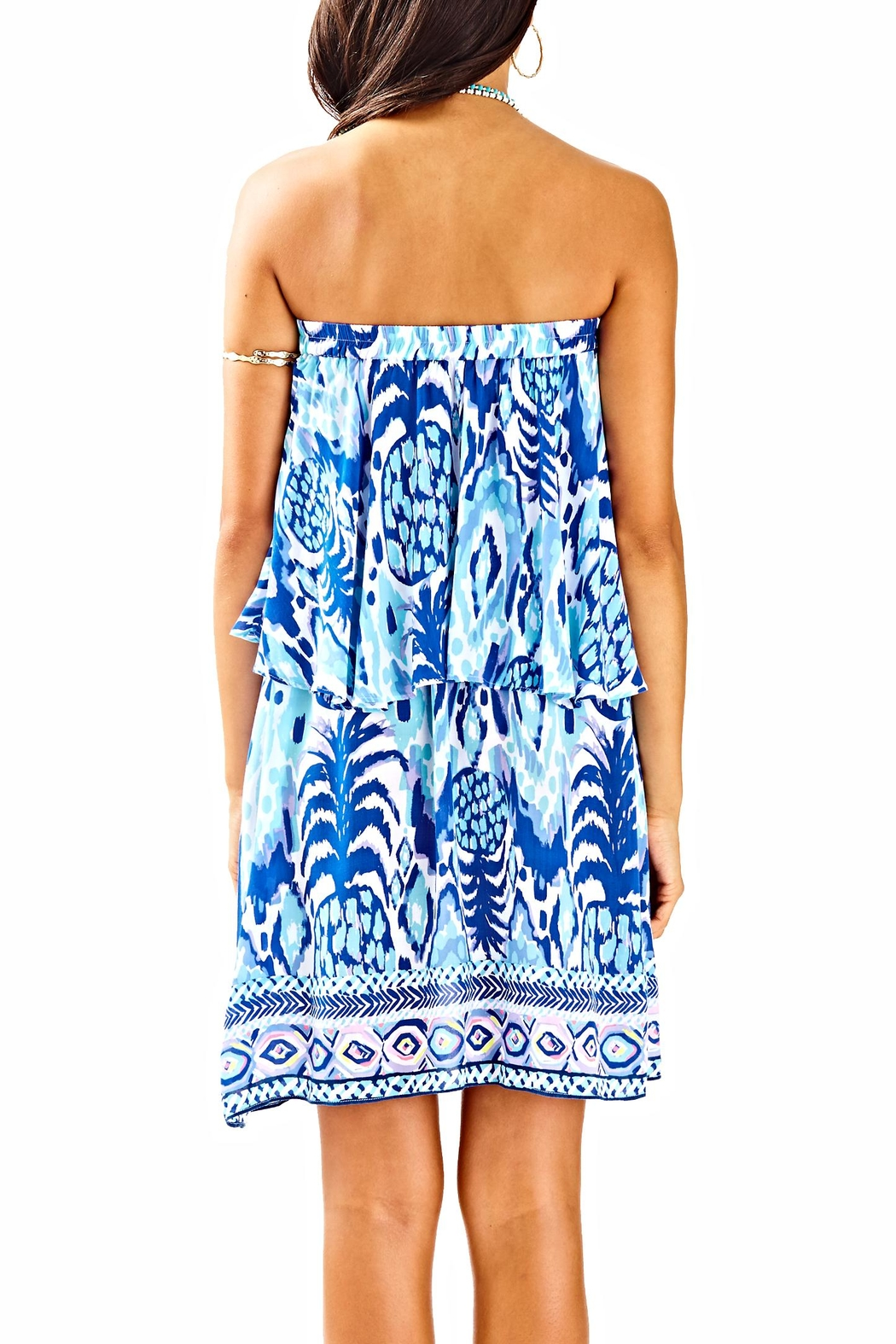 Lilly Pulitzer Quincy Swing Dress - Front Full Image