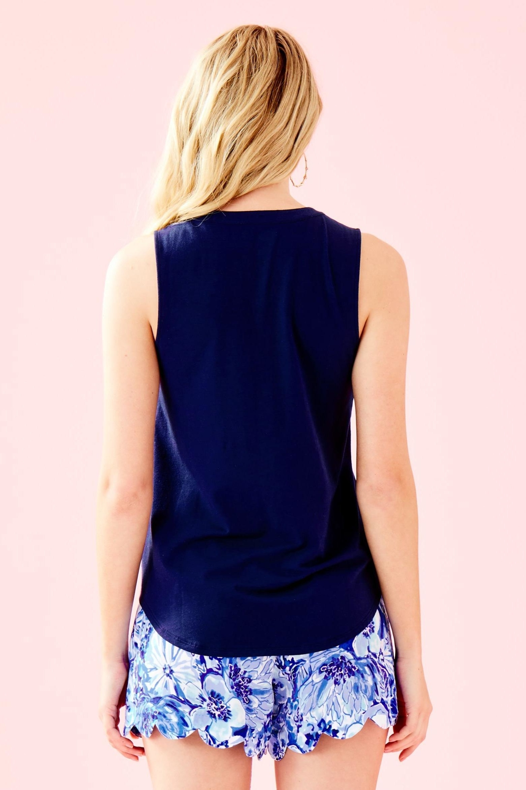 Lilly Pulitzer Raisa Top - Front Full Image