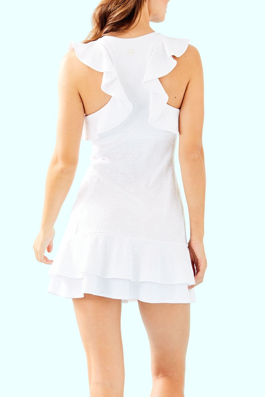 Lilly Pulitzer Rally Tennis Dress - Front Full Image
