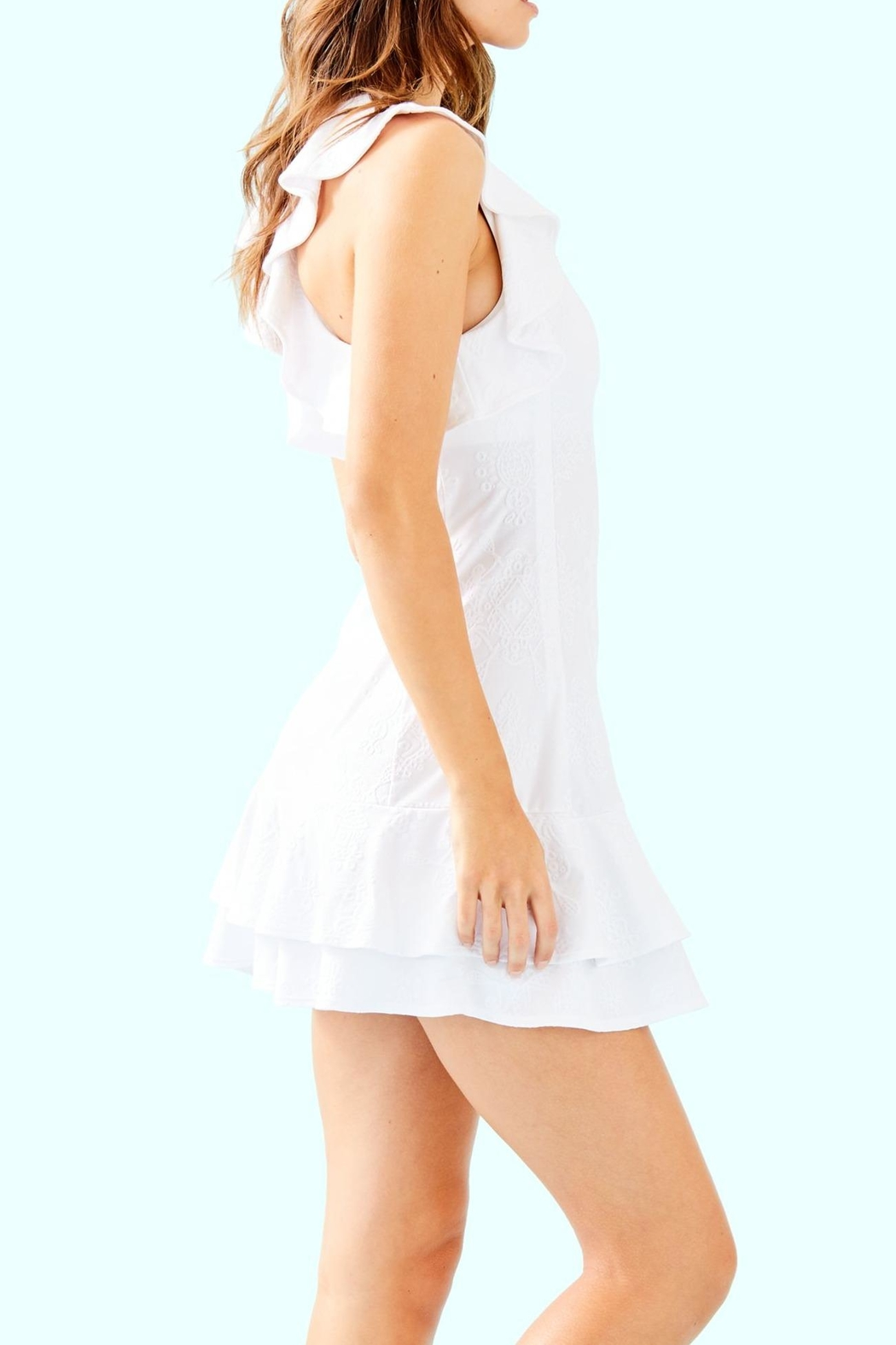 Lilly Pulitzer Rally Tennis Dress - Side Cropped Image