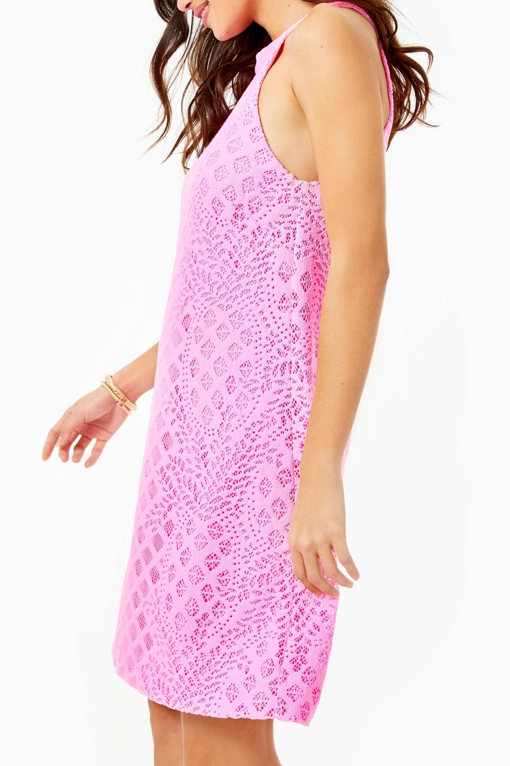 Lilly Pulitzer Rayanne Shift Dress - Side Cropped Image