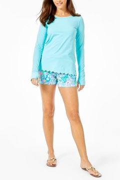 Lilly Pulitzer Renay Scallop Sunguard - Alternate List Image