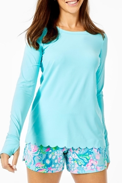 Lilly Pulitzer Renay Scallop Sunguard - Product List Image