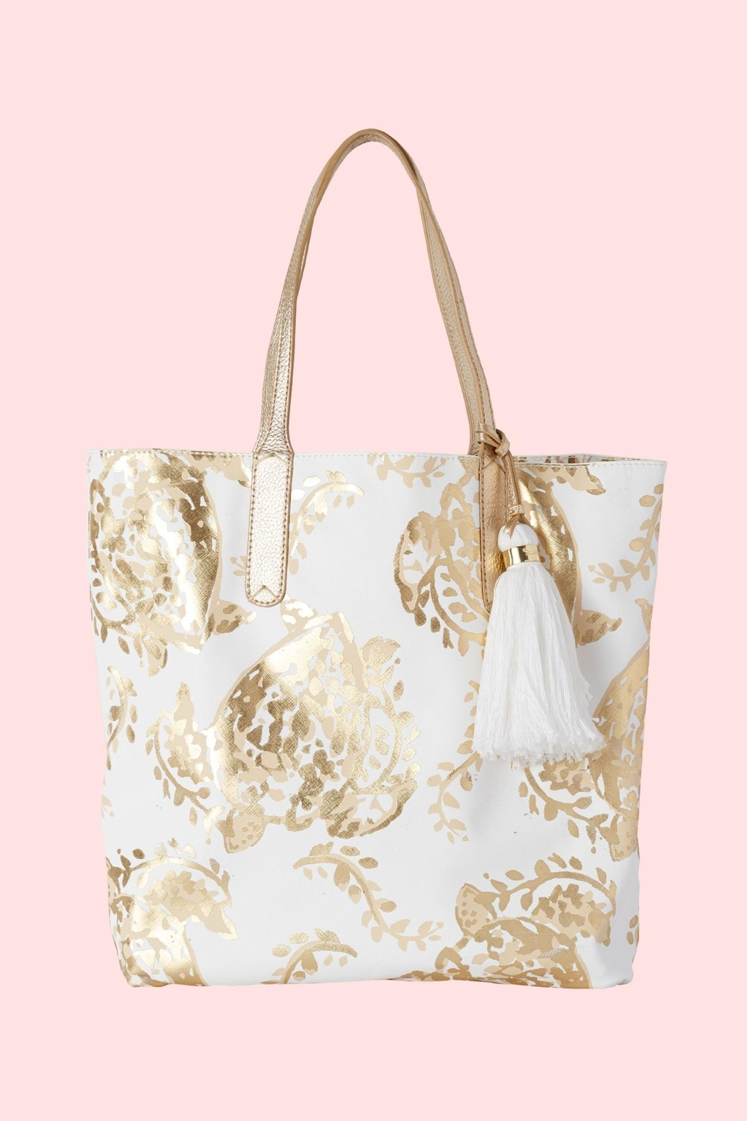 Lilly Pulitzer Reversible Shopper Tote - Front Full Image