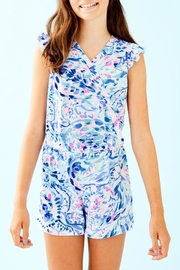 Lilly Pulitzer Rommee Romper - Product Mini Image
